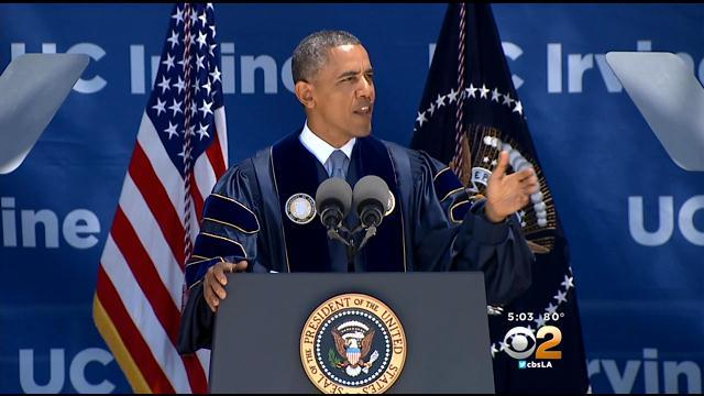 President Obama Challenges Graduating UC Irvine Class 'To Do Big Things'