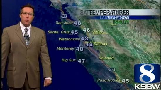 Get Your Wednesday KSBW Weather Forecast 5.22.13