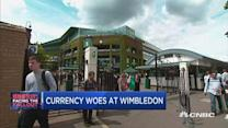 Wimbledon purse takes hit