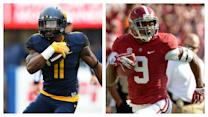 Better NFL WR: West Virginia's Kevin White Or Alabama's Amari Cooper?