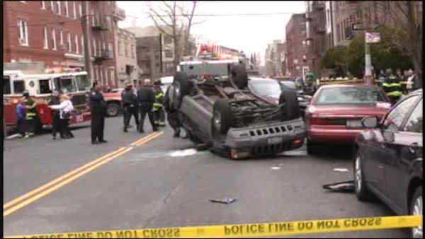 Grandmother killed after violent Brooklyn crash