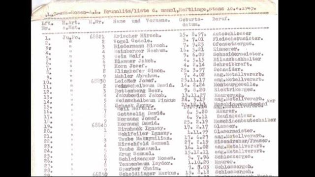 Schindler's List, all'asta su eBay la copia originale della lista