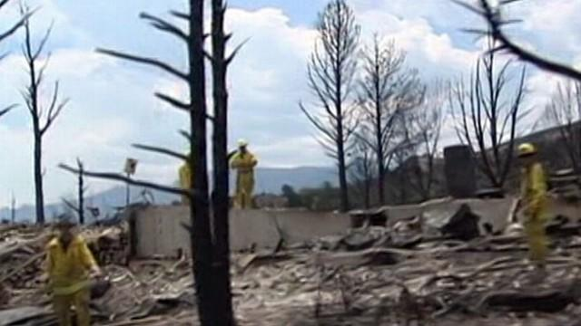 Wildfires Rage Out West