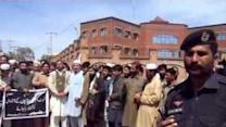 Traders Stage Protest in Peshawar