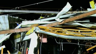 Deadly Tornadoes Strike South