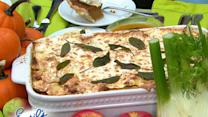 Emeril Lagasse's Pumpkin and Sausage Lasagna