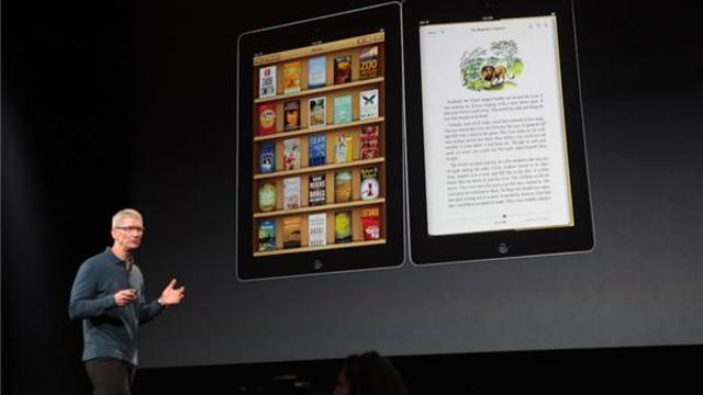 Apple shows off new iBooks app