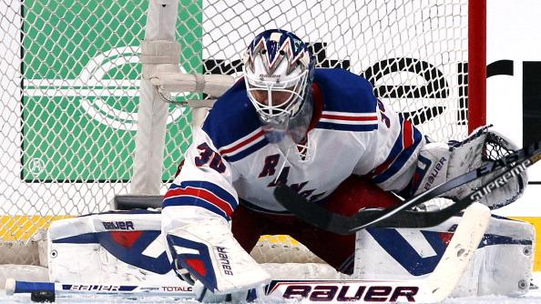 RADIO: Lundqvist playing at another level in goal for the Rangers