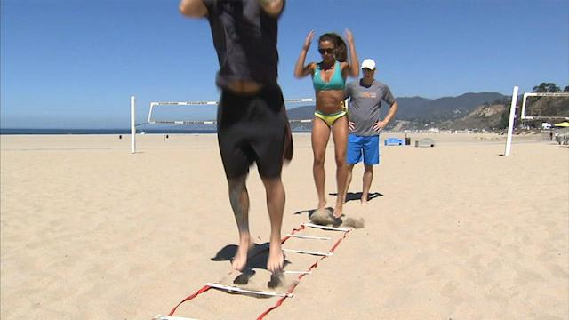 Sand training can be the best way to shape up, ASICS expert says