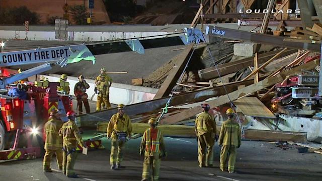 Deadly crash shuts down NB 5 in East LA