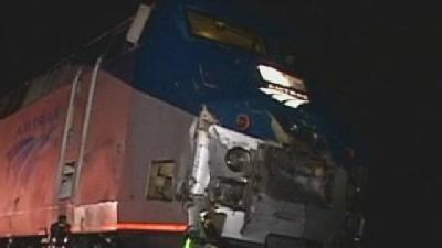 Amtrak Vs. Semi In Greenfield