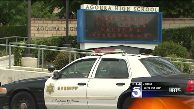 Student Suspected in Agoura High Hate Vandalism