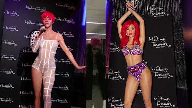Rihanna's Abs-olutely Amazing New Wax Figures