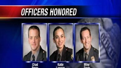 3 Okla. City Officers Getting Highest Honors