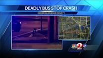 Women killed when SUV crashes into bus stop