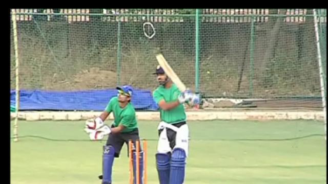 Rajasthan Royals in practice session