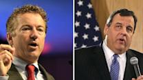 Family feud: GOP's Christie and Paul throw down