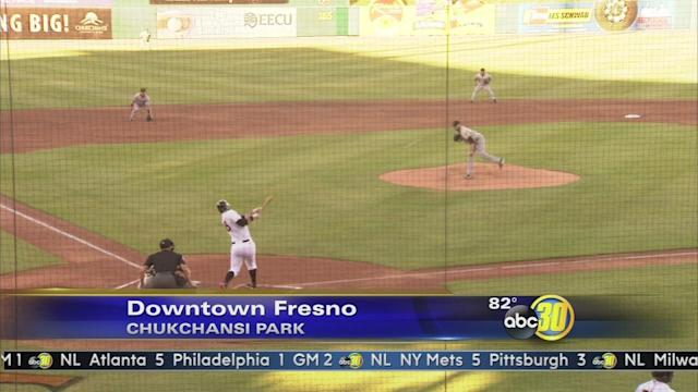 Brandon Belt plays 1st rehab game with Fresno Grizzlies