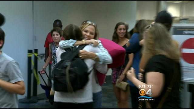 Happy Homecoming For Local Students Who Spent Summer In Israel