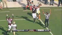 Virginia Tech's Bucky Hodges Steals Ball For TD | ACC Must See Moment