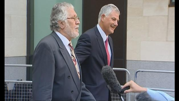Dave Lee Travis: Wife absent because 'I hate hare coursing'