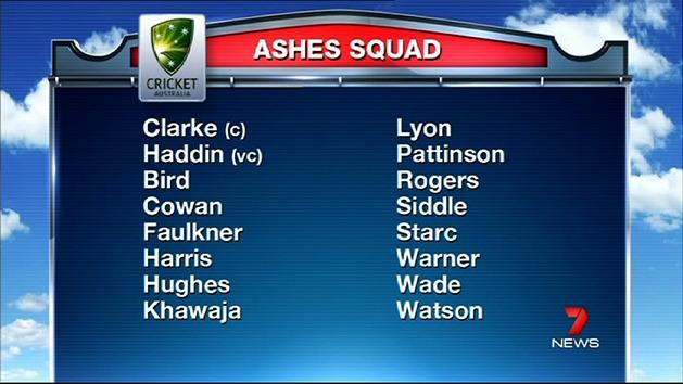 Brad Haddin gets call-up for Ashes