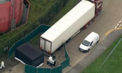 驚悚!貨櫃車一開 驚見39具屍體