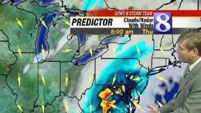 Mass Of Moisture Moves In