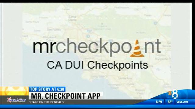 Local man behind Mr. Checkpoint app sues city