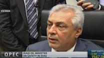 Iraq violence 'no threat' to oil supply: Minister