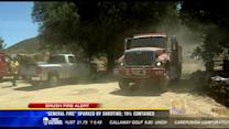 General Fire sparked by shooting; 70 percent contained