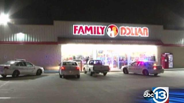 Store clerk held up at gunpoint by armed robbers
