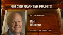 GM 3Q profits $1.7B