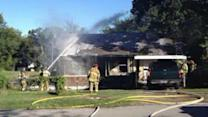 Boy, 3, saves family from house fire