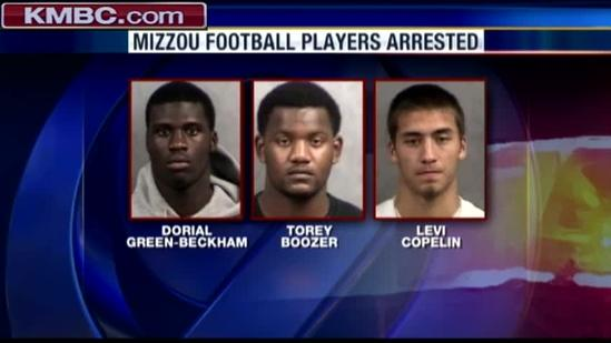 5 Mizzou players suspended after marijuana bust