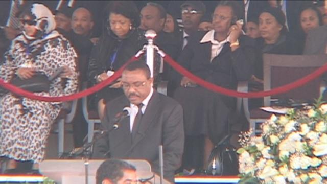 Thousands join funeral of long-time Ethiopia leader Meles