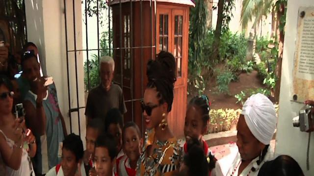 Beyonce and Jay-Z Visiting Cuba