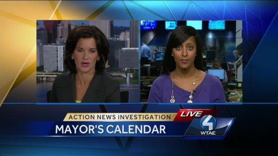 Mayor declines to answer questions about calendar