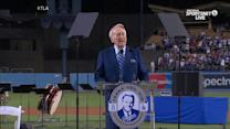 Vin Scully, the Voice of the Dodgers, Gives His Final Farewell