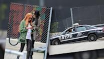Lindsay Lohan Bails Out her Porsche From NYPD