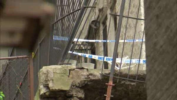 Washington Heights wall collapse forces evacuations