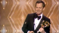 "Tony Randall Wins Outstanding Lead Actor in a Comedy for ""The Odd Couple"""