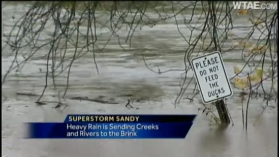 Superstorm isn't done with Pennsylvania yet