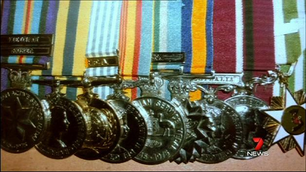 Hunt continues for stolen medals