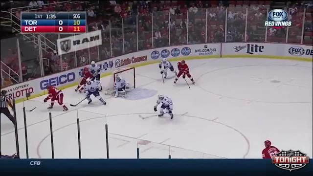 Toronto Maple Leafs at Detroit Red Wings - 10/18/2014