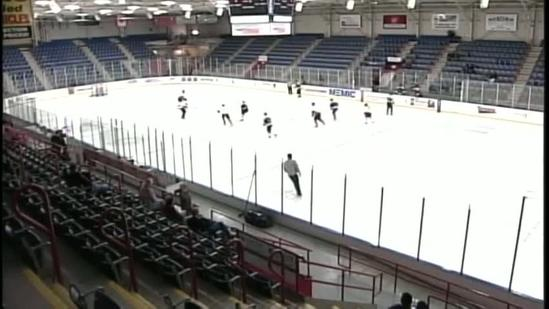 Officers take to the ice for charity hockey tournament