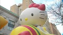 Macy's Thanksgiving Day Parade balloons inflated