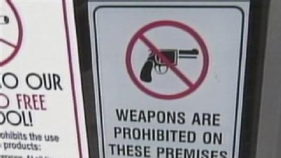 Businesses Weigh Options On Weapons