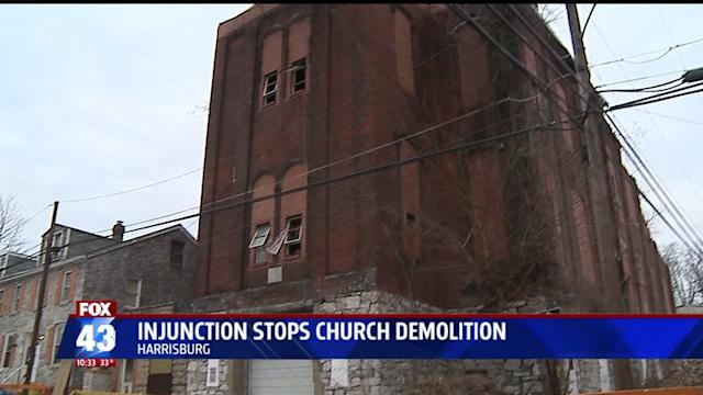 Injunction Granted To Stop Partially Collapsed Church