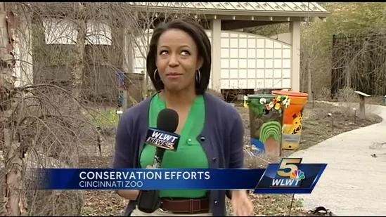 Zoo unveils 2nd annual Rain Barrel Art Project